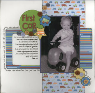 First Car - Daniel