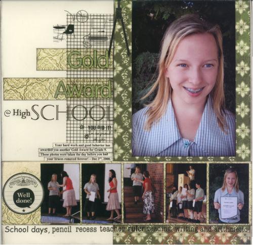 Gold Award @ High School