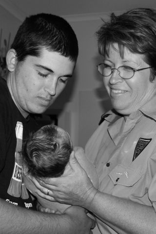 The bond between parents of 3 generations