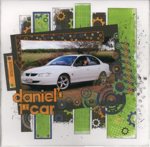 Daniel's 1st Car
