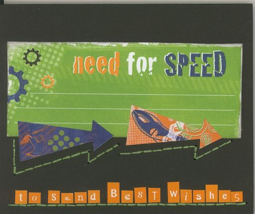 Need for Speed to send Best Wishes - card