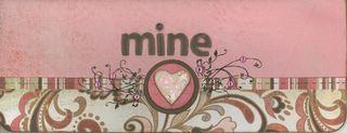 Mine - from Bittersweet Card Kit