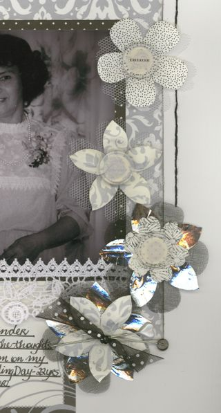 Closeup 1 of Mum & I layout
