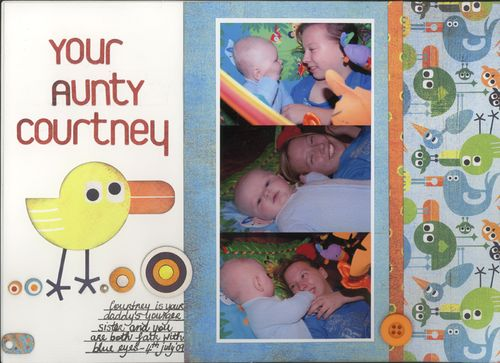 Your aunty courtney