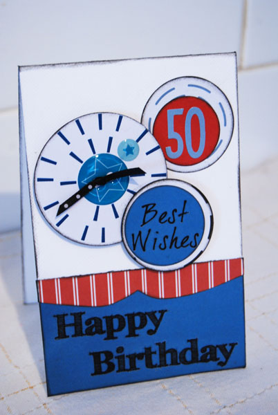 Raymonds 50th birthday card